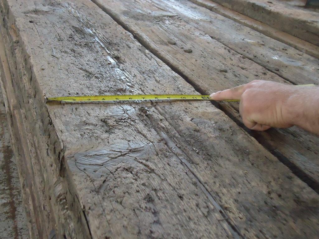 Granary floor board hemlock pine circle rock inc for Threshing floor